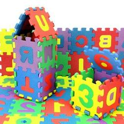 36Pcs Hot Collections Toy Foam Floor Alphabet & Number Puzzl