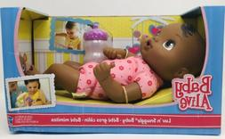 Baby Alive Luv 'n Snuggle Baby Doll African American