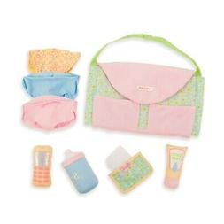 Manhattan Toy Baby Stella Darling Baby Doll Diaper Bag and A