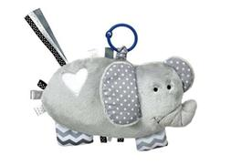 Demdaco Baby Activity Toy Elephant With Rattle Plush Strolle