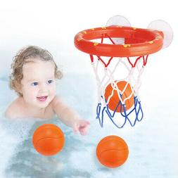 Baby & Toddler Gift Set Bath Toys, Basketball Balls & Hoop,