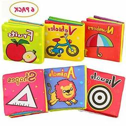 Aitey Baby Books for 6 to 12 Months, Baby Toys Soft Cloth Cr
