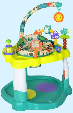 Baby Bouncer Activity Center Jumper Degree Rotating Seat Pla