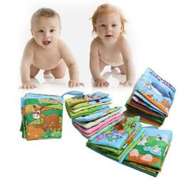 Baby Child Cloth Book Words&Picture Soft Books Intelligence