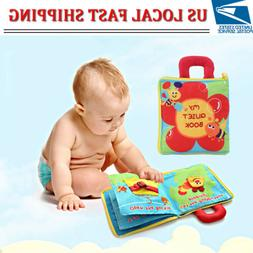 Baby Cloth Soft Book Toys Educational Books Toy Enlightenmen