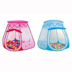 Baby Kid Outdoor Indoor Princess Play Tent Playhouse Ball Pi