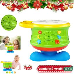 Baby Musical Drum Toys Toddler Electronic Drum Learning Educ