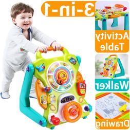 Baby Sit to Stand Walkers Toys Birthday Gift for 6,9,12,18 M