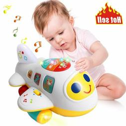 Baby Toys Electronic Airplane Toys With Lights  Kids Learnin