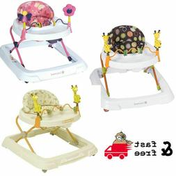 Baby Walkers Activities & Gear w/ Removable toy bar with toy