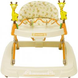 Baby Walkers Toys High Back Padded Seat 3 Position Height Ad