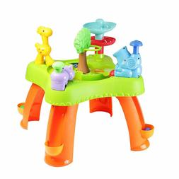 infunbebe Ball Drop Toys Table for Toddlers Multiplayer Lear