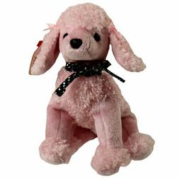 TY Beanie Baby - BRIGITTE the Pink Poodle  - MWMTs Stuffed A