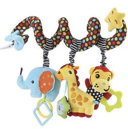 Sozzy Car Seat Toys Hanging Toys Baby Activity Spiral Wrap A