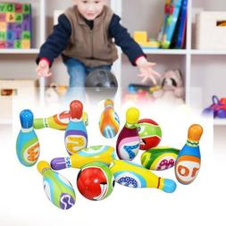 Child Bowling Play Set, Gift Toys for 2,3,4,5 Year Old Boys