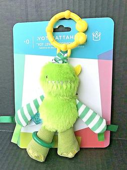 Manhattan Toy Company Green Monster Travel Toy For Your Baby