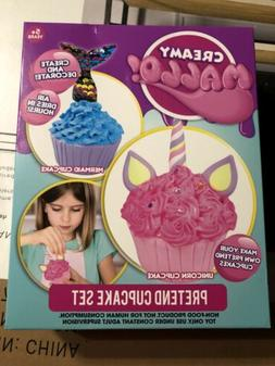 Hunter Products Creamy Mallo Pretend Cupcake Playset New