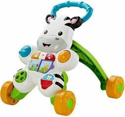 Fisher-Price Learn with Me Zebra Walker Baby Toddler Toy NEW