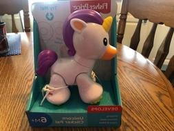 Fisher Price Unicorn Clicker Pal 6M+ New - Infant Toys/ Baby