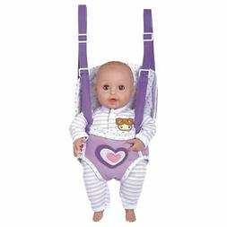 """Adora GiggleTime Lilac 15""""Girl Vinyl Weighted Soft Body Toy"""