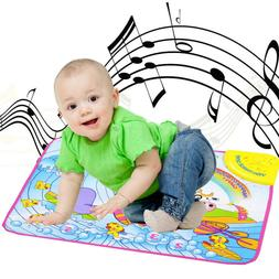 Kids Baby Musical Piano Play Mat Development Educational Sof