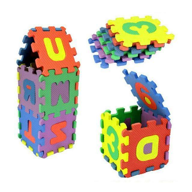 36Pcs Baby Number Educational Toy