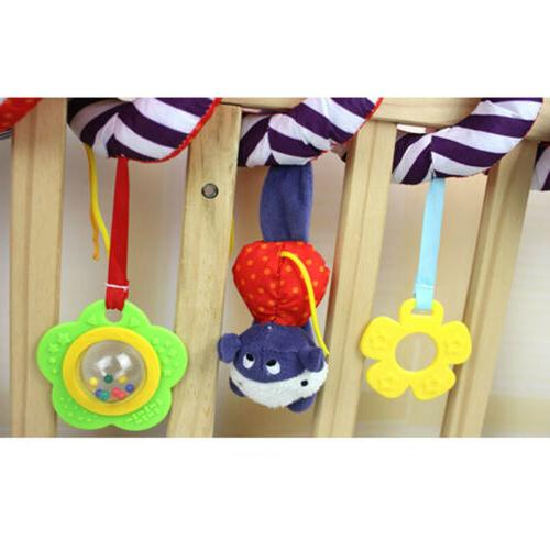 Baby Activity Spiral Travel Lathe Hanging Fad