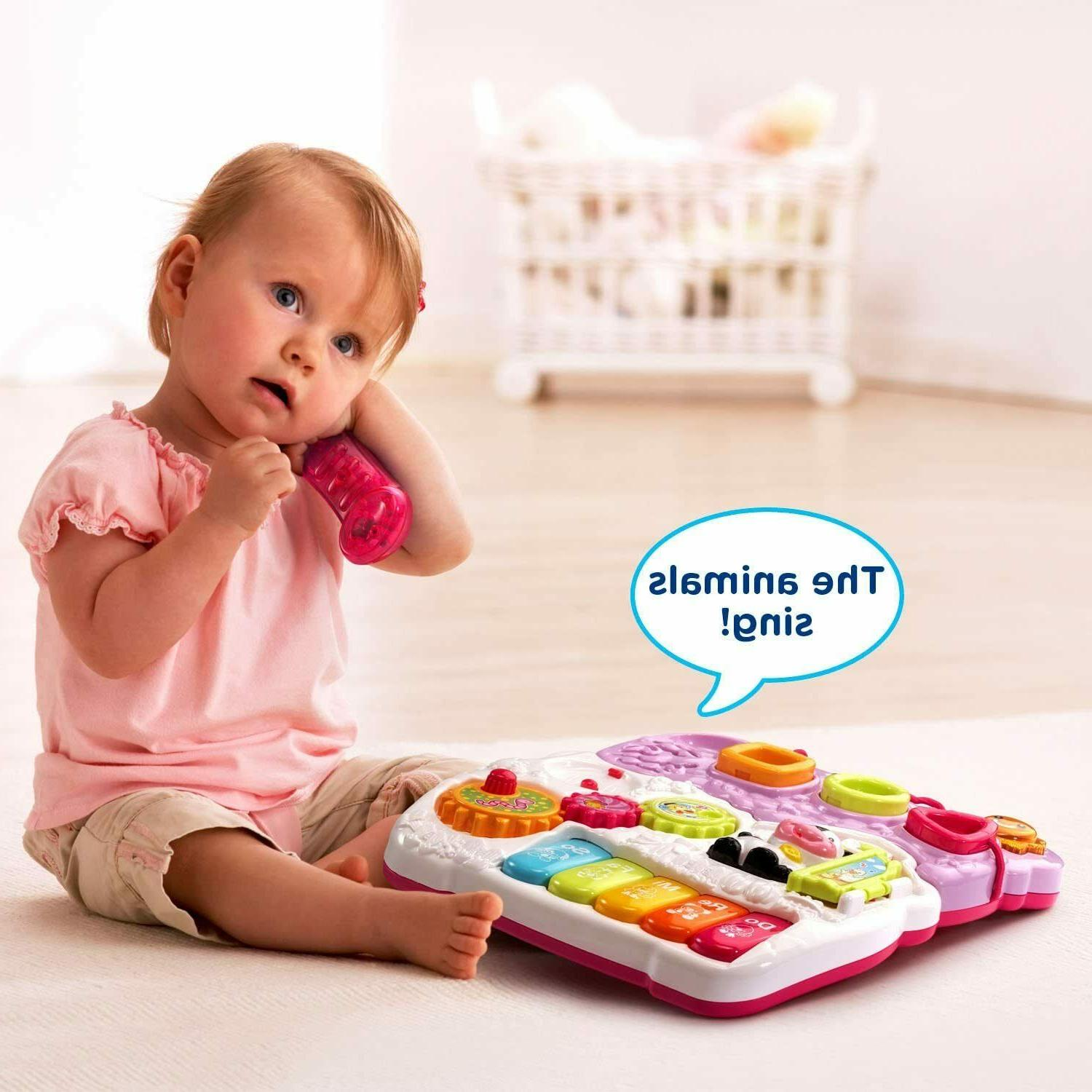 VTech Baby Sit-to-Stand Pink