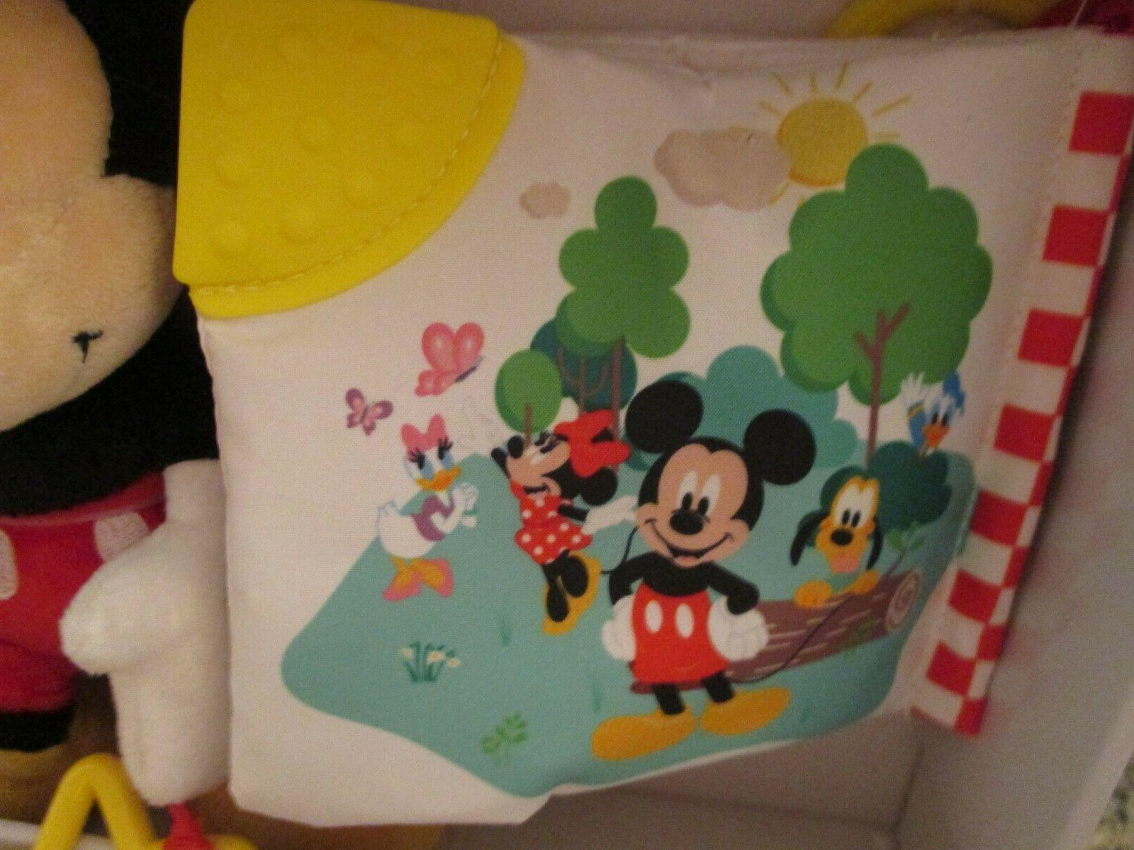 Disney Toys & Book Gift Mickey Mouse Baby Gift