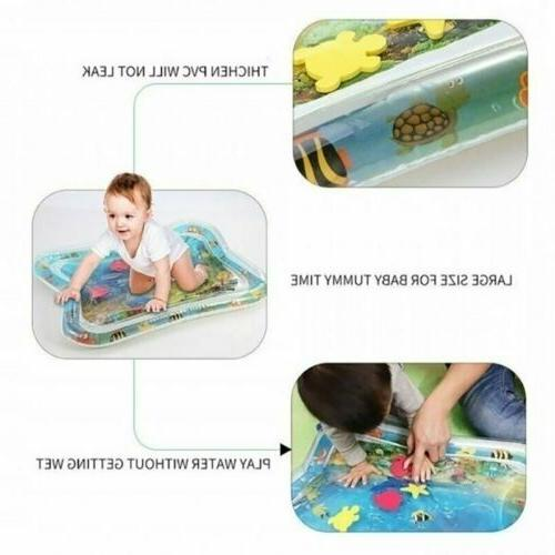 Baby Water Play Tummy Floor Activity Gym Crawling Funny
