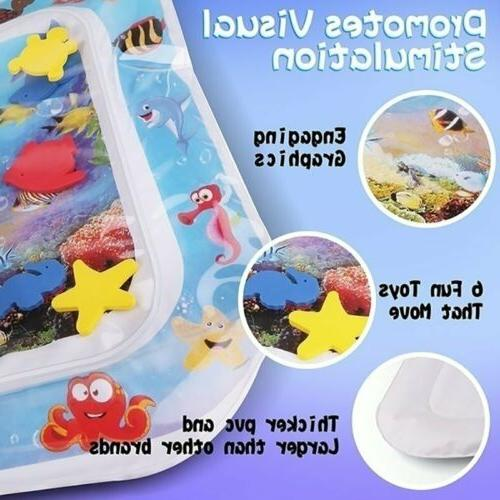 Baby Water Mat Tummy Floor Gym Crawling Funny