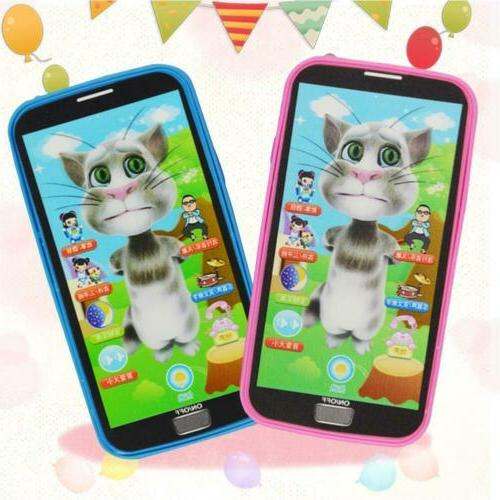 child simulator music toy cell phone touch