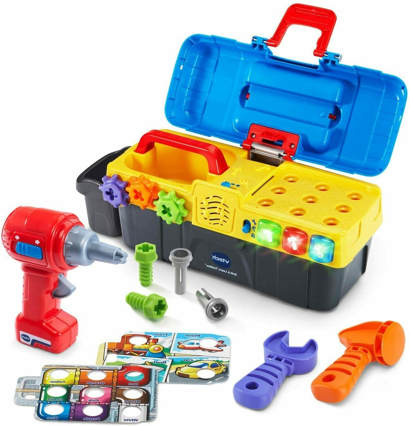 drill learn toolbox playset