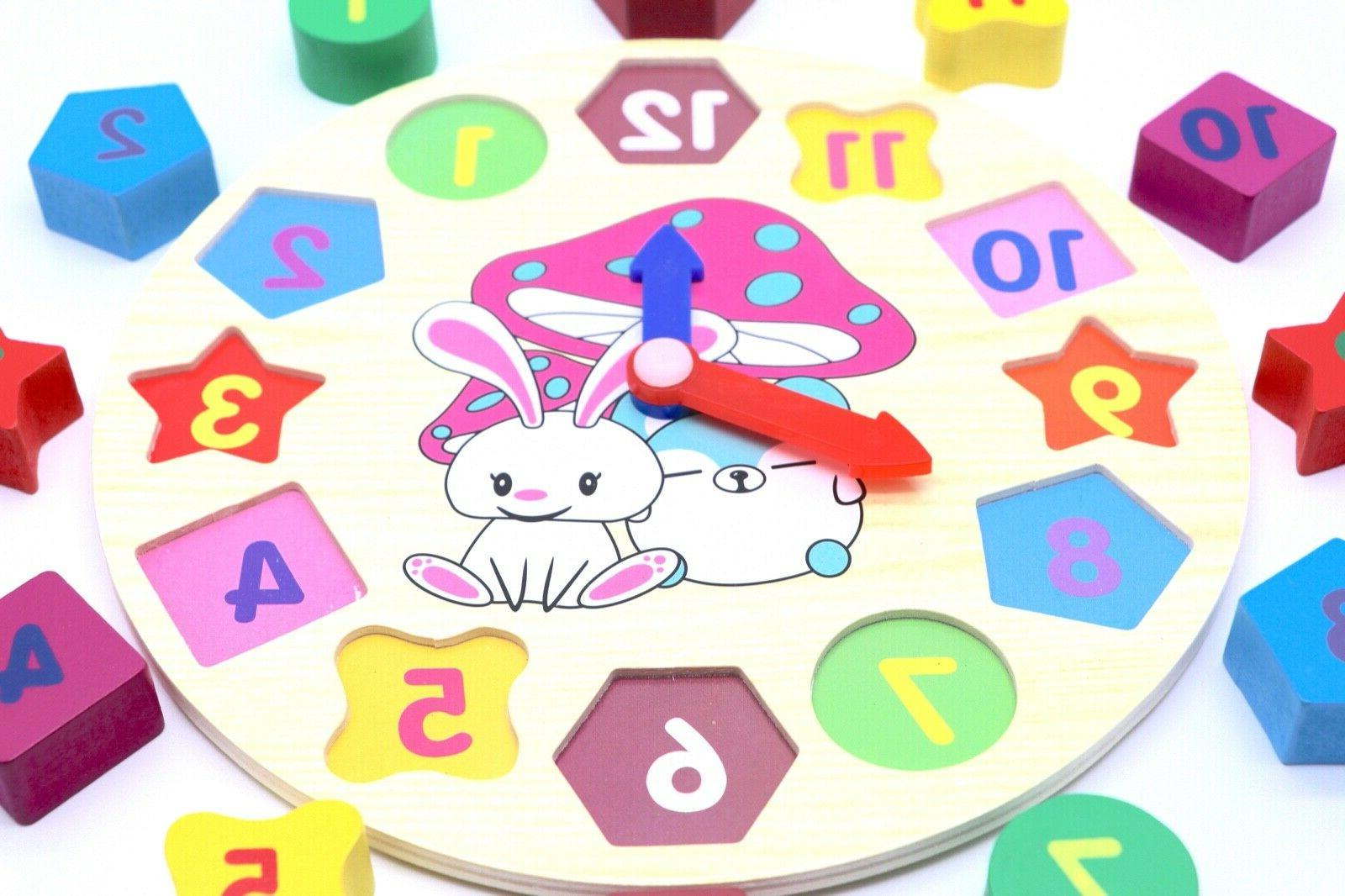 Educational Sorting Puzzle Play Toy Toddlers Baby