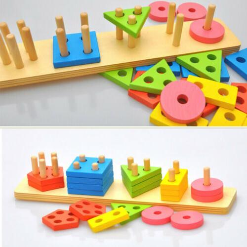 Educational Toys Color Sorting Toddler Play