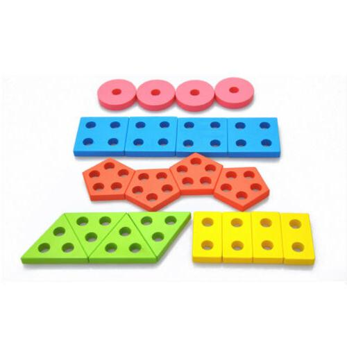 Educational Toys Color Stacking Toddler