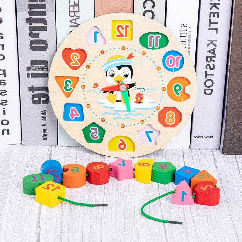HOT <font><b>Baby</b></font> Colorful Wooden Music Rattles Cognition Early <font><b>Toys</b></font> <font><b>Baby</b></font> Months