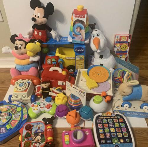 huge baby toddler toy lot interactive educational