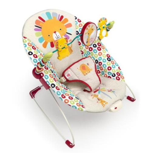 Infant To Toddler Rocker Seat Bouncer Play Toy Bar Swing Cha