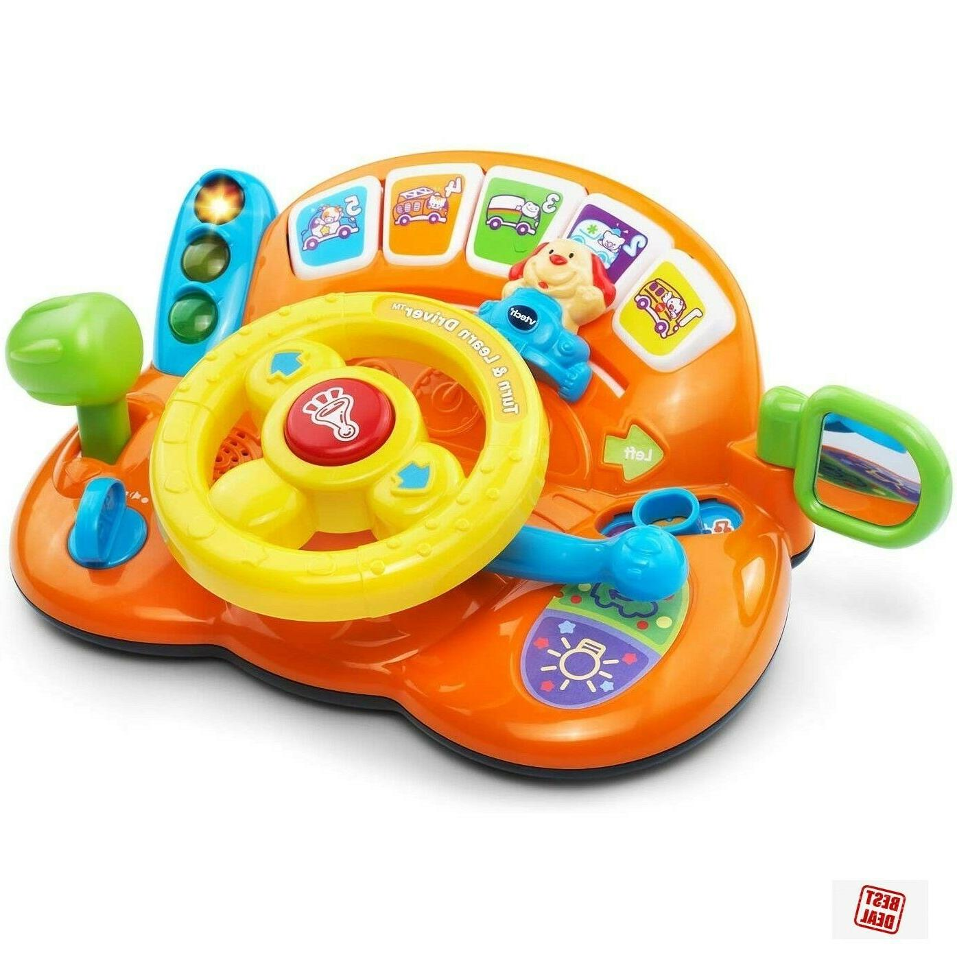 learning educational steering wheel toys for 1