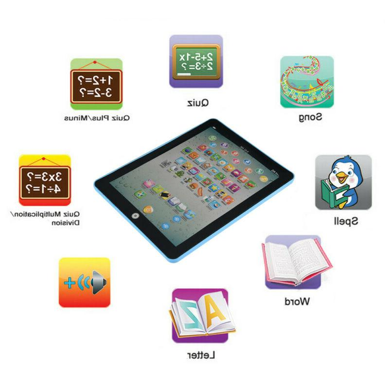 Baby Tablet Girls Toy For Year Old English