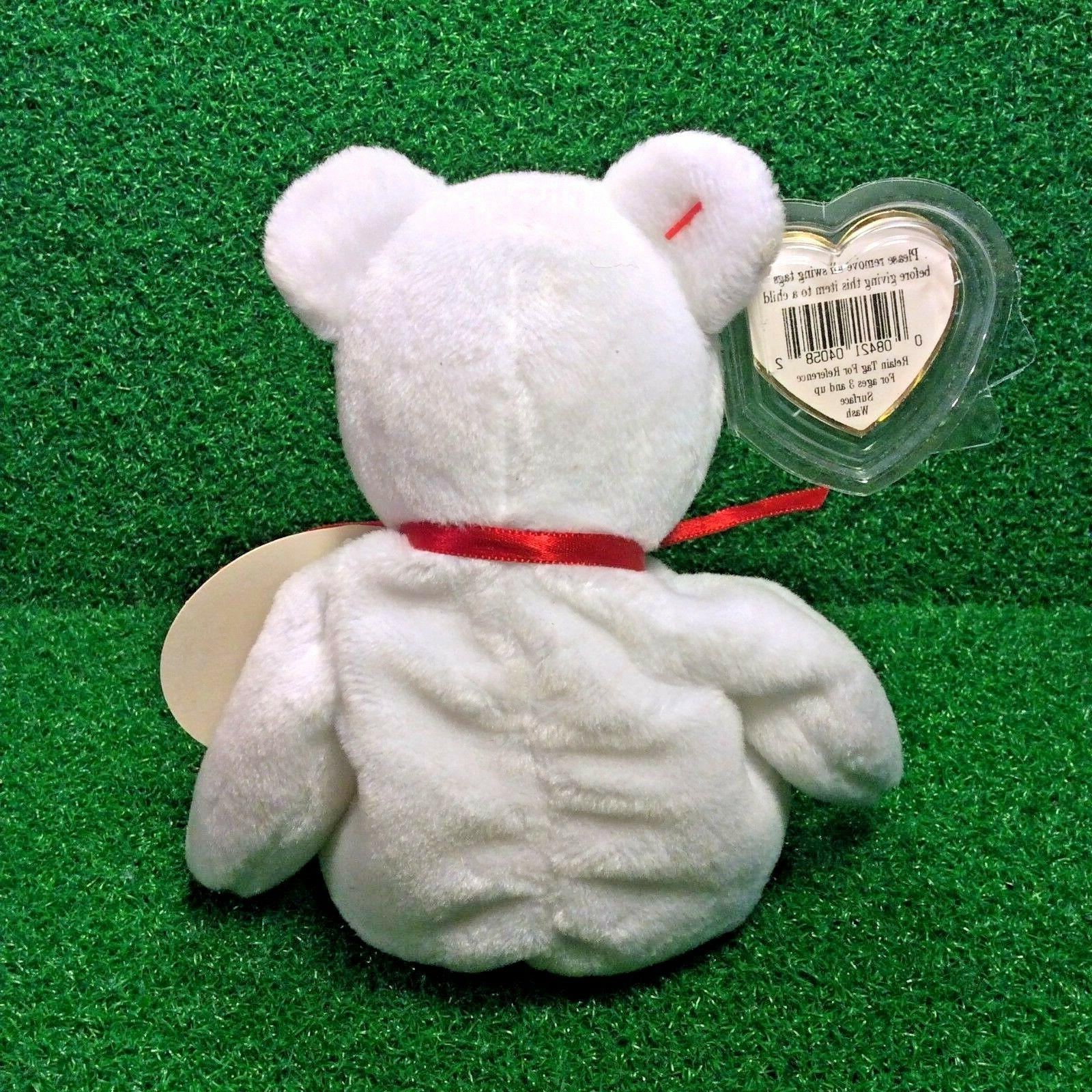 Limited Ty Baby Valentino Bear Toys For