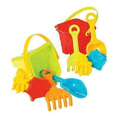pre packed beach toy buckets toys active