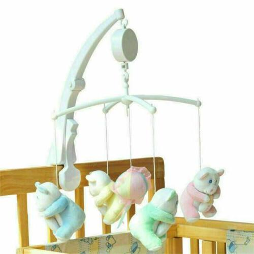 Rotary Mobile Bed Toys Clockwork Movement Music Kids Toy