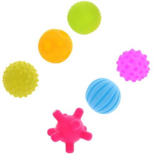 MagiDeal Soft & Textured Plastic Balls for Babies & Toddlers