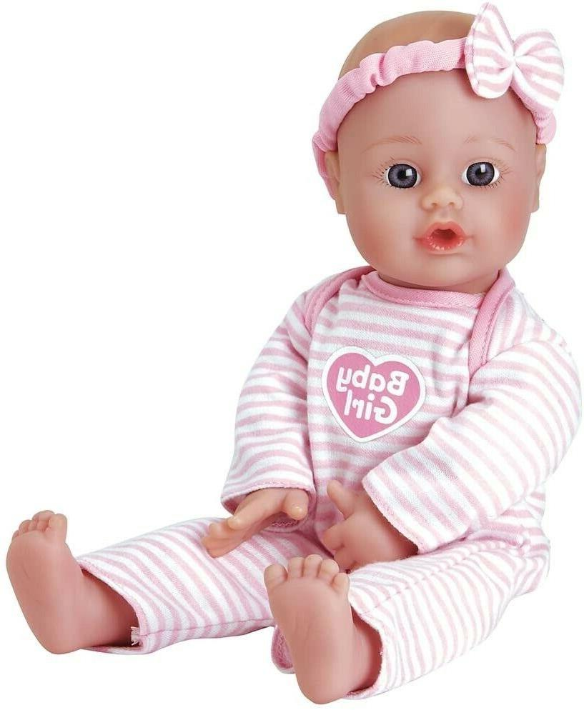 sweet baby girl doll washable soft body