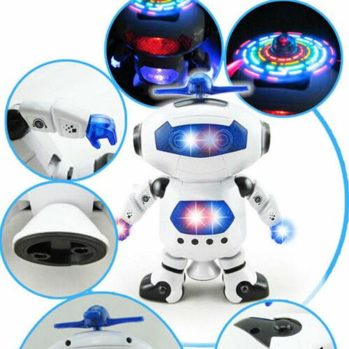 Toys for Boys Walking LED Lights Musical Cool Baby Xmas