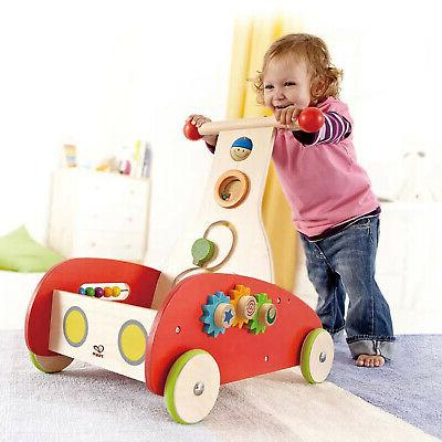 Hape Toys E0370 Baby Push Toy Wonder for Months