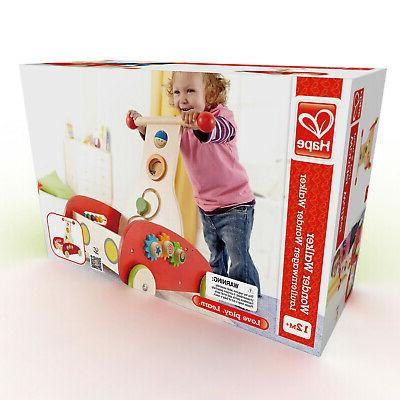 Hape Toys Toddler Baby Push and Pull Toy Wonder Walker for