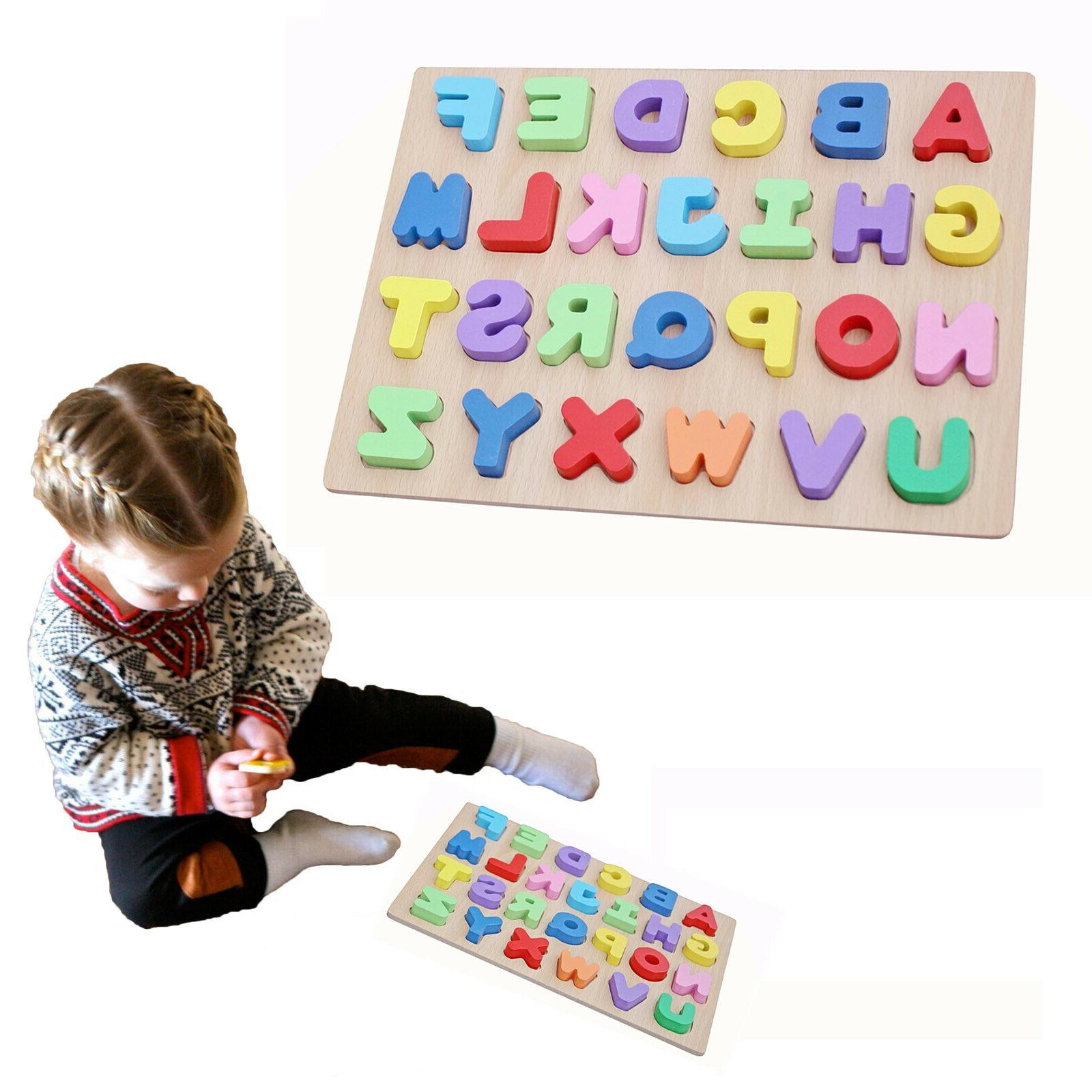 Timy Alphabet Puzzle Board Educational Early